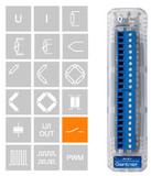 低成本16数字通道输出单元 Gantner D105
