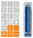 4通道模拟输出+4通道数字输入/输出单元 Gantner A109